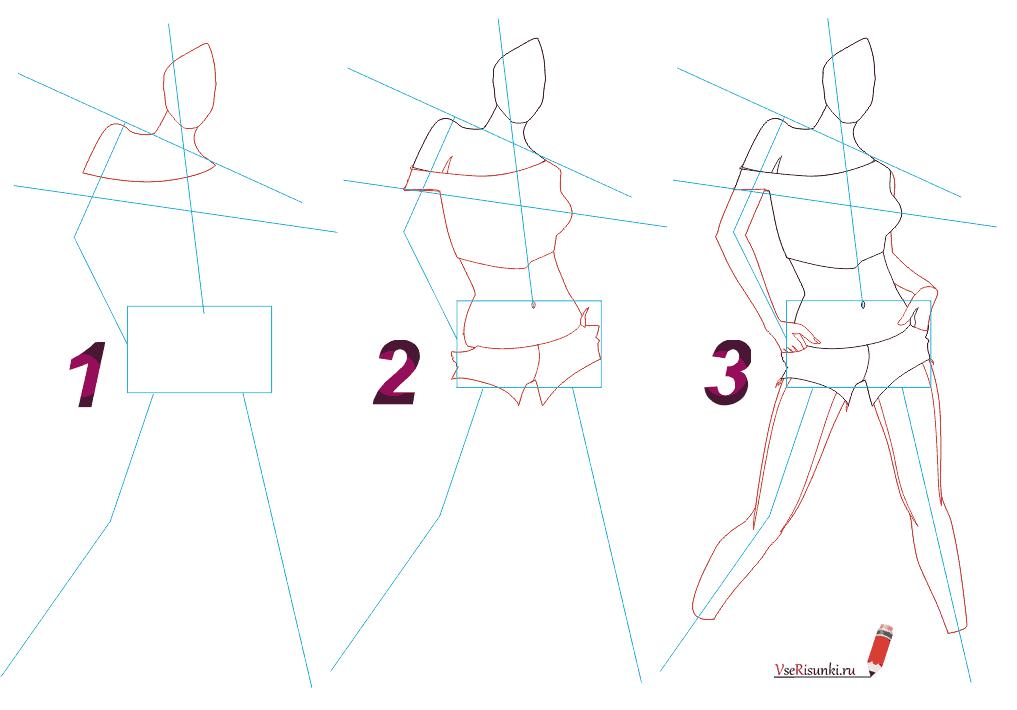 Рисунок для начинающих пошагово