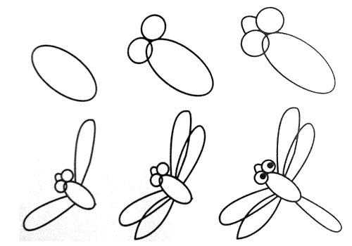 Рисуем поэтапно для детей легкие